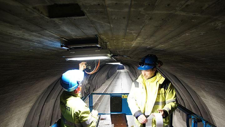 Sornes tunnel customer challange